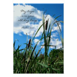 Natur-Fotografie-Plakatchristlicher Scripture Plakate