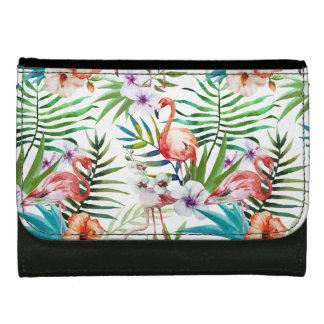 Natur-Gartenmuster des extravaganten Flamingos