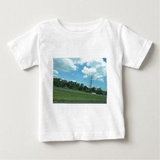 Natur-Grün 1 FRÜHLINGS-Himmel USA New-Jersey Baby T-shirt