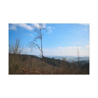 Natur in den Bergen Leinwanddruck