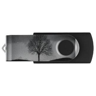 Natur in Schwarzweiss USB Stick