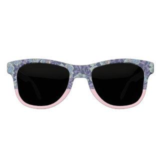 Natur-Inspirierte Blumen- und rosa Sonnenbrille