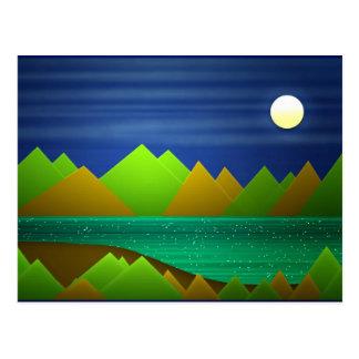 Natur-Landschaftspostkarte Postkarte