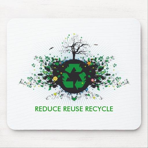 Natur recycelt mousepads