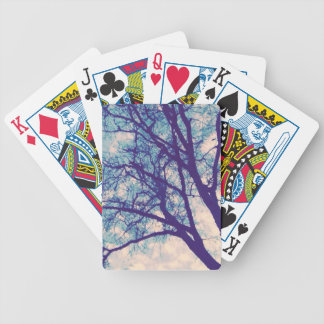 Natur redete Kartenstapeles an Spielkarten