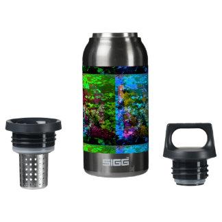 Natur schattiert Thermo Flasche