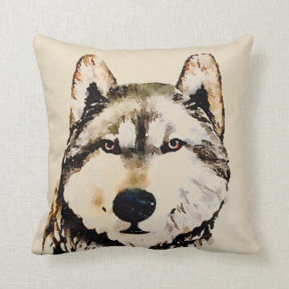 Natur-Timberwolf Kissen