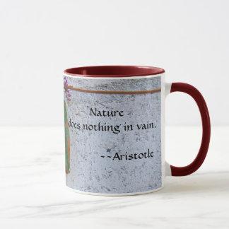 Natur tut nichts vergeblich tasse