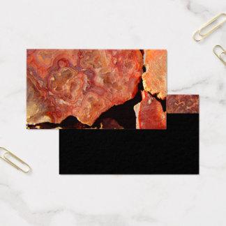 Natur-Visitenkarteschablonen-Felsenmuster Visitenkarte