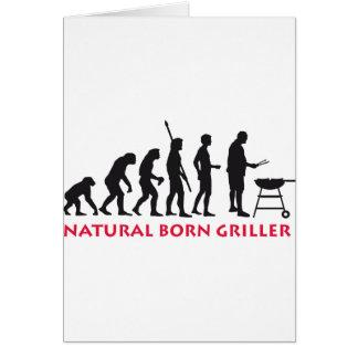 Natural Born Griller 2c Karte