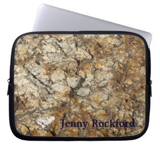 Natürlich cooles Surfaces_Marble look_personalized Laptop Sleeve