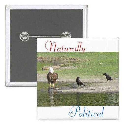 Natürlich politische 2 buttons