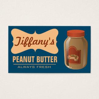 Natürliche | Bio handgemachte Butter der Visitenkarte