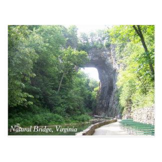 Natürliche Brücke Postkarte