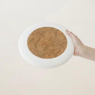 Natürliche Rauch-Korken-Barken-hölzerner Wham-O Frisbee