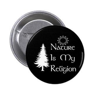 Natürliche Religion Runder Button 5,1 Cm