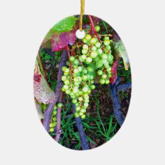 Natürliche Trauben Keramik Ornament