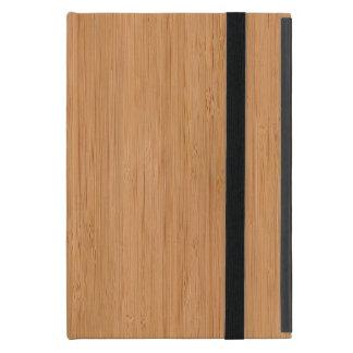 Natürlicher Bambusblick iPad Mini Hülle