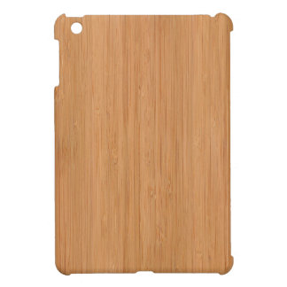 Natürlicher Bambusblick Hüllen Für iPad Mini