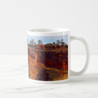 Natürlicher Bereich Rotluchs-Ridges Kaffeetasse