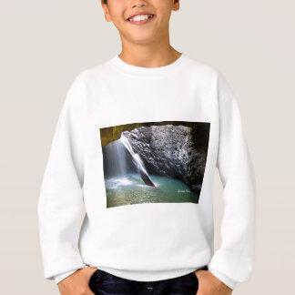 Natürlicher Bogen-Wasserfall Sweatshirt