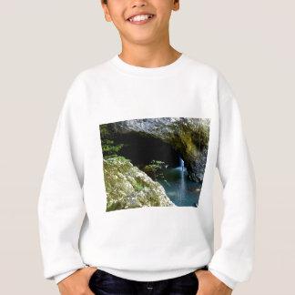 Natürlicher Bogenwasserfall Sweatshirt