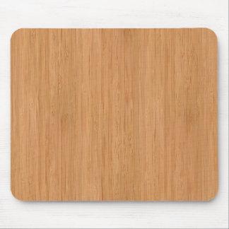 Natürlicher hölzerner Korn-Bambusblick Mousepad