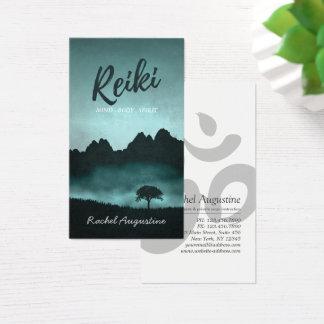 Natürlicher Reiki Meister und Visitenkarte