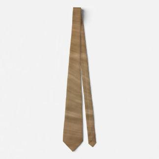 Natürlicher TAN-Sandstein-Felsen-Entwurf Personalisierte Krawatten
