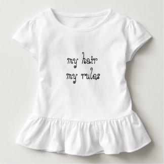Natürliches Haar mein Haar meine Regeln Toddle Kleinkind T-shirt