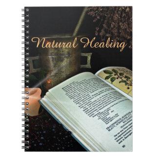 Natürliches Heilen Spiral Notizbuch
