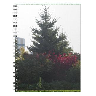 Naturliebhaber-Geschenke Baum-Blumen-Schablone Notizblock