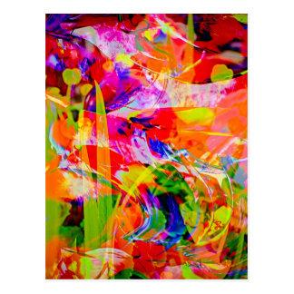 Natut Abstrakt 6 Postkarten