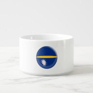 Nauru-Flagge Kleine Suppentasse