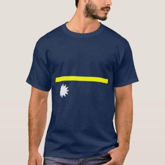 Nauru-Flaggen-Shirt T-Shirt