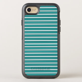 Nautical_Teal-Stripes (c) Apple_Samsung (c) OtterBox Symmetry iPhone 8/7 Hülle
