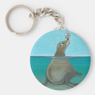 """""""Nautilus"""" der Seelöwe Schlüsselanhänger"""