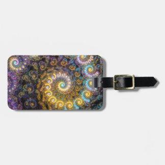 Nautilus-Fraktalschönheit Gepäckanhänger