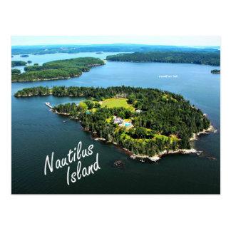 "Nautilus-Insel: ""Ich selbst…"" Lowell-Postkarte Postkarte"