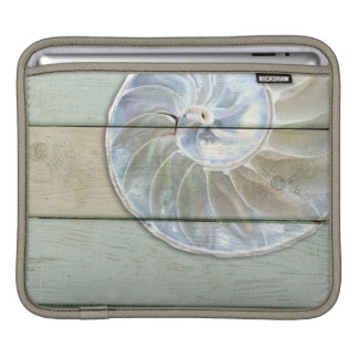 Nautilus-Muschel iPad Sleeve