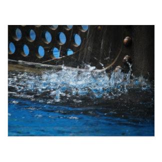 Nautilus-Spritzen Postkarte