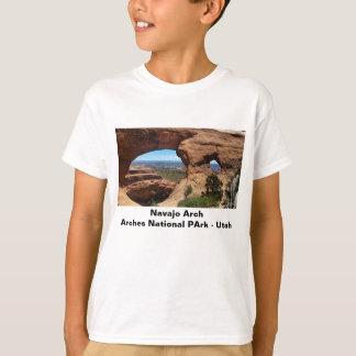 Navajo-Bogen wölbt Nationalpark Utah T-Shirt
