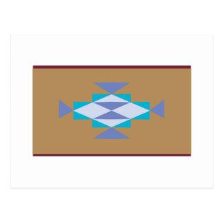Navajo-Dreiecke Postkarte