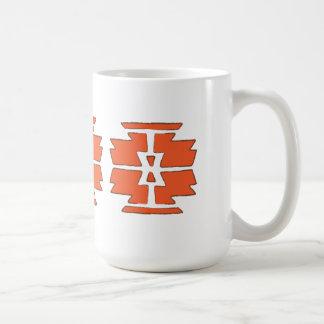 Navajo-Druck - südwestwärts indischer Entwurf Kaffeetasse