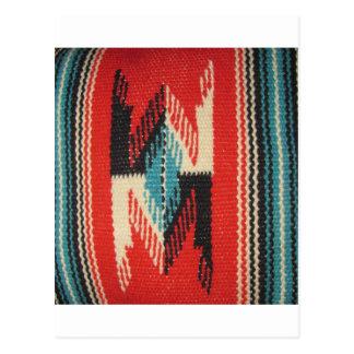 Navajo-Entwürfe Postkarte