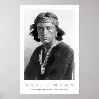 Navajo-Junge Poster