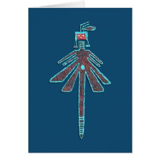 Navajo-Libelle, Insekten-Mythologie Karte