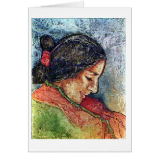 Navajo-Mädchen Karte