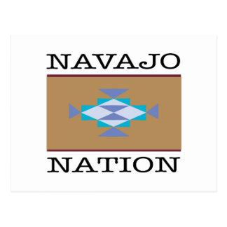 Navajo-Nations-Dreiecke Postkarte