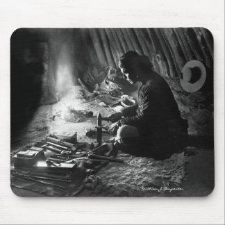 Navajo-Silberschmied Mousepads